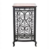Legacy Home LTD 32-104LLT 18.5 x 31.5 in. Open Design Wine Storage Cabinet With Wood Table Top – Oil Rubbed Bronze Review