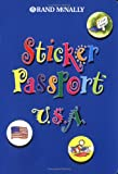 Sticker Passport U. S. A., Rand McNally, 0528838229