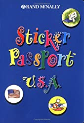 Sticker Passport U.s.a. (Sticker Passports)