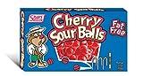 Shari Sour Balls, Cherry, 3 Ounce (Pack of 12)