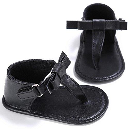 Bebé sandalias SMARTLADY zapatos Niñas Bebe Negro
