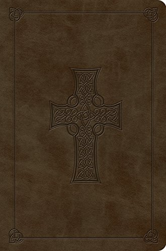 ESV Compact Outreach Bible, Premium Edition (TruTone, Olive, Celtic Cross Design) (Celtic Cross Bible Esv)