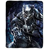 Black Panther Movie Marvels Silk Throw Blanket