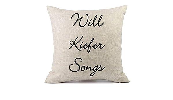 Amazon.com: Valentines Day Pillow Covers Cajas De Amor Españolas Casos De Cojines Decorativos para El Hogar 18x18 F: Kitchen & Dining