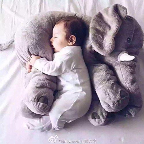 60 cm Elephant Soft Plush Toy Baby Kid sleep pillow calm doll kid toy