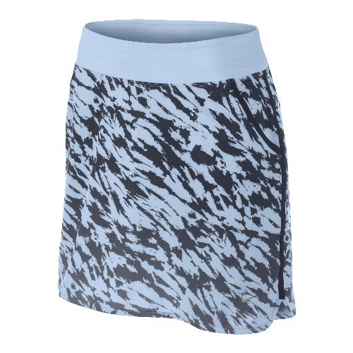 Nike Golf Women's Print Knit Skort Obsidian/Ice Blue/Soft Grey ()
