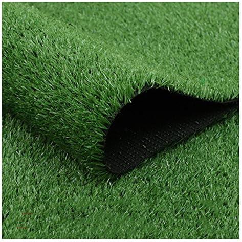 YNGJUEN 人工芝、屋外緑の高密度休日の芝生現実的な庭きちんとした緑豊かな15ミリメートル山高さ (Size : 2x1m)