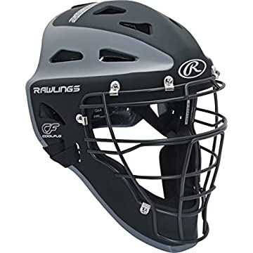 Image of Catcher Helmets Rawlings Sporting Goods Catchers Helmet Velo Series Adult 7 1/8-7 3/4 inch CHVEL