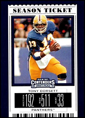 20c008013 2019 Panini Contenders Draft Picks Season Ticket #97 Tony Dorsett Pittsburgh  Panthers Official Collegiate Football Card of the NFL Draft