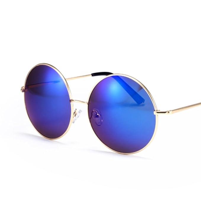 Gafas de sol redondas/Retro la caja de las gafas de sol de ...