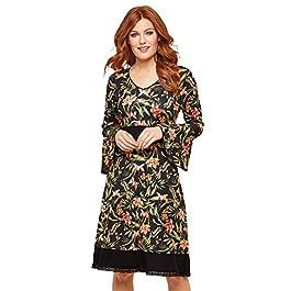 Joe Browns Women's Fluted Sleeve Jersey Dress