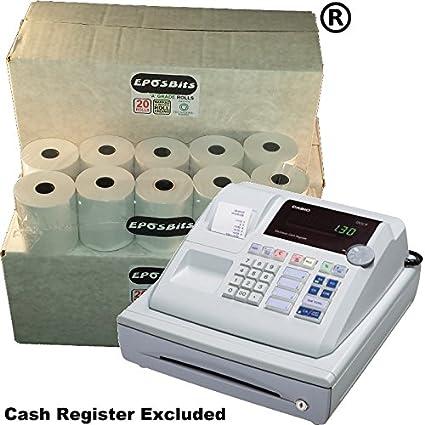 eposbits® marca 60 rollos – 3 cajas para Casio pcr262 PCR 262 pcr ...