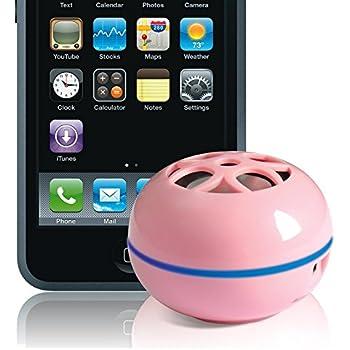 Grandmax Mini Tweakers Portable Palm-Size Speakers for iPod Black Mp3 Players /& Laptops