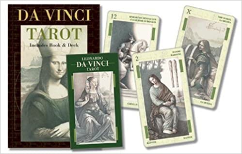 Davinci Tarot Kit English And Spanish Edition Mcelroy Mark Lo Scarabeo 9780738708942 Amazon Com Books