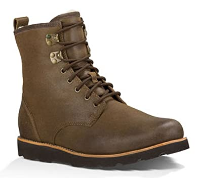 02c115f4df2 UGG Australia Men's Hannen Tl Grizzly Leather Boot 8 M US: Amazon.co ...