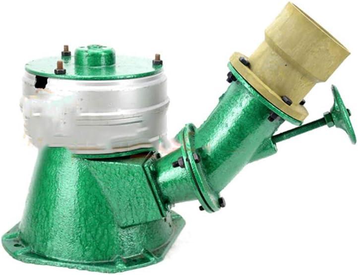 QWERTOUY 220V 500W Micro Hydro Water Turbine Generator Hydroelectric Magnet Full Copper Core Single Phase Generator