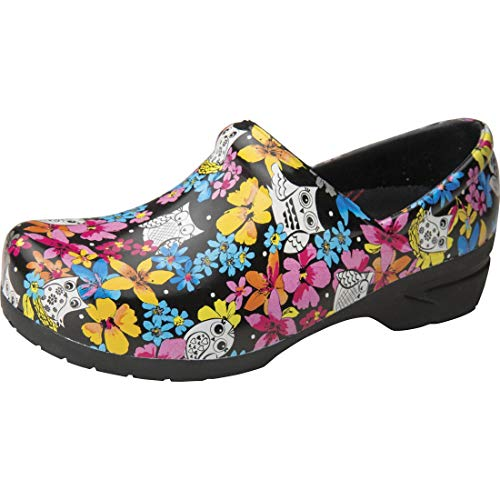ANYWEAR Women's SR Angel Clog with Anatomical Foot bed Fine Feathered Friends AW-ANGEL--FFF005MED