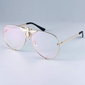 YYXXZZ Gafas de sol Gafas de Sol graduadas de Abeja piloto ...