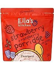 Ella's Kitchen Strawberry & Raspberry Porridge 175g
