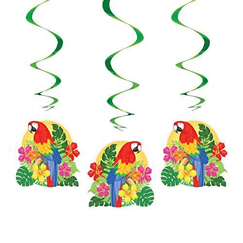 Hanging Tropical Island Luau Decorations