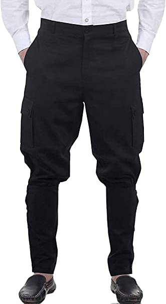 Amazon.com: Pantalones medievales para hombre, estilo ...