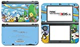 Adventure Time Jake Finn Princess Bubblegum Marceline Video Game Vinyl Decal Skin Sticker Cover for the New Nintendo 3DS XL LL 2015 System Console