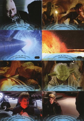 Star Wars Galactic Files 2 10-card Ripples in the Galaxy set (1:6 packs)