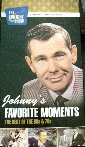 The Tonight Show Johnny's Favorite Moments 60's & 70's VHS