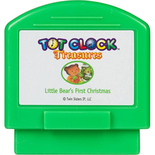 Tot Clock Treasures: Little Bear's First Christmas + The Mouse's Christmas (compatible with New & Improved Tot Clock only)