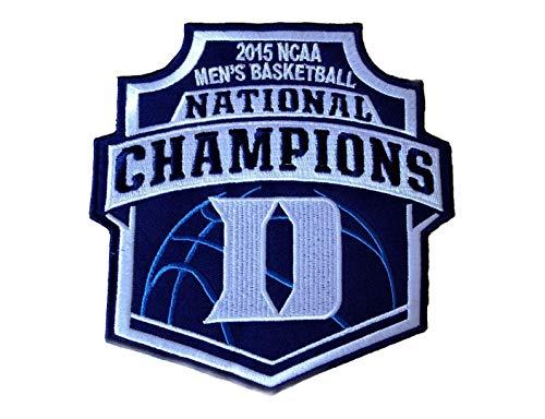 Duke Blue Devils Mens Basketball 2015 National Champions Team Logo Iron on Patch