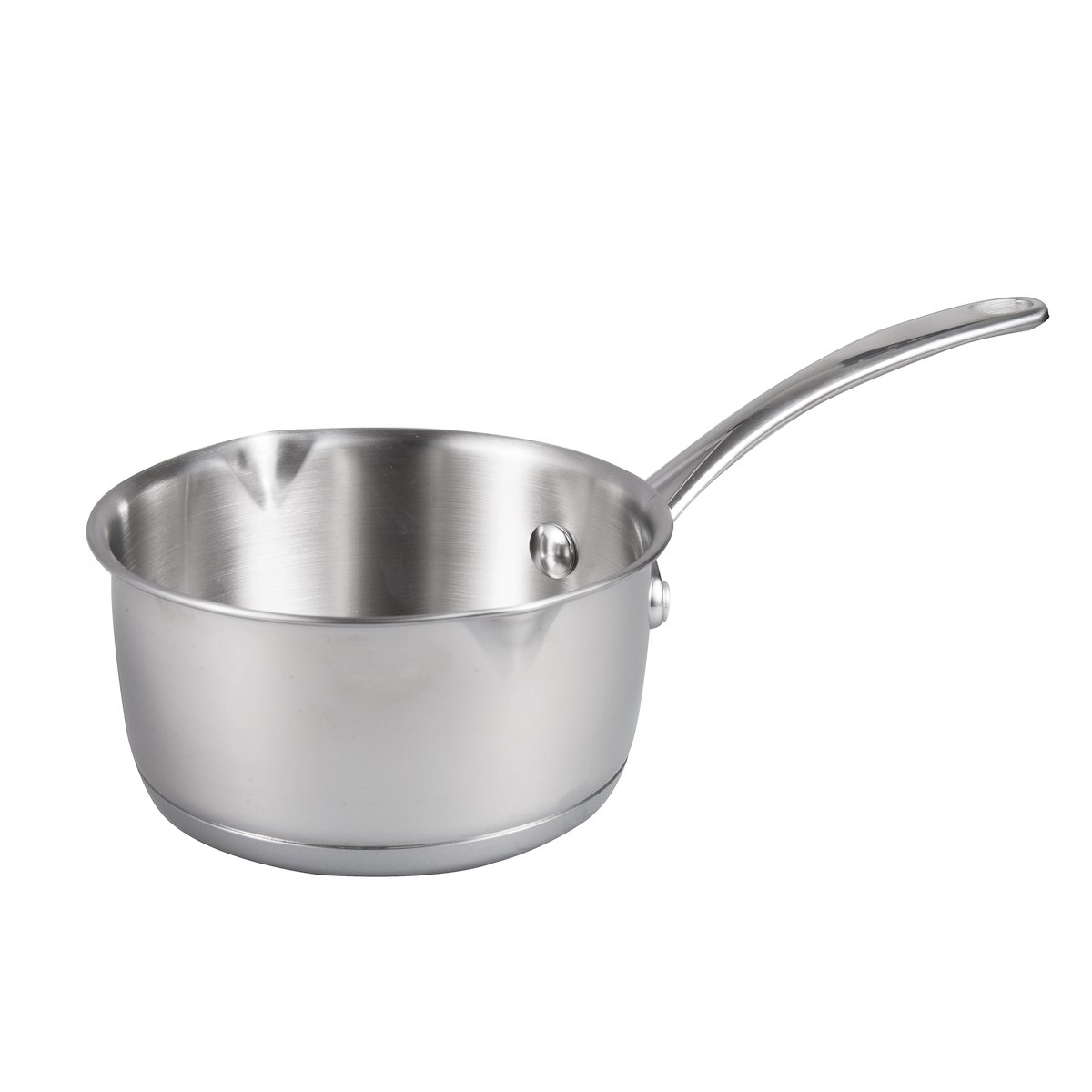 IMEEA (17oz/500ml Heavy Duty 18/10 Tri-Ply Stainless Steel Butter Warmer Pan with Dual Pour Spouts, 0.5-Quart by IMEEA (Image #6)