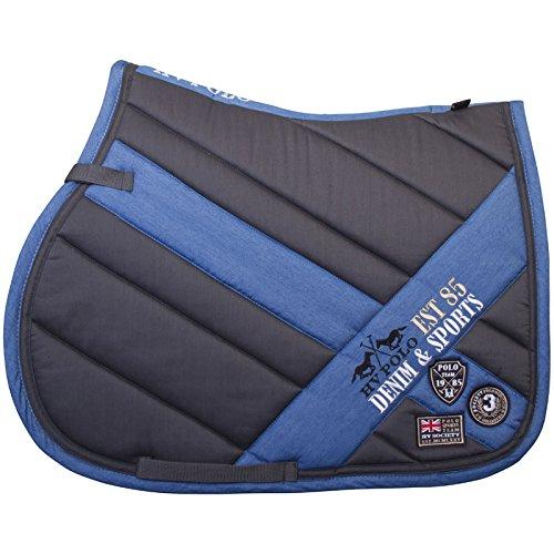 Dressur (Full) HV POLO Saddle Pad Saddle Cloth Full Vs Bruges or Dr Charcoal