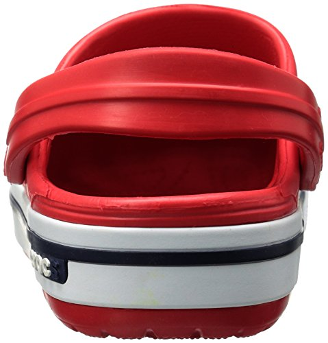 Rouge Adulte Crocband Navy Sabots Mixte Crocs Red WfBnIqAa