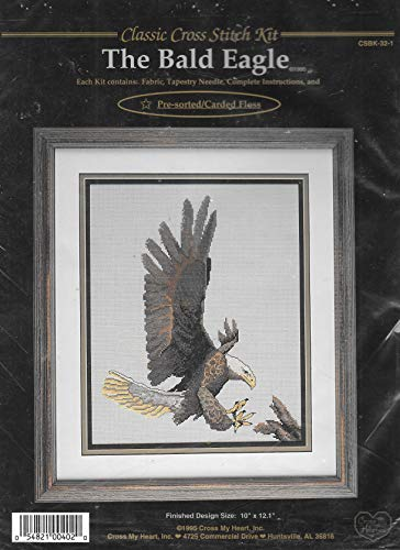 The Bald Eagle Counted Cross Stitch Kit