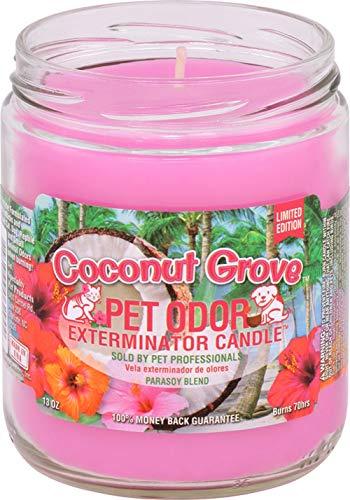 Pet Odor Exterminator Coconut Grove Candle, 13 oz, Pack of 2