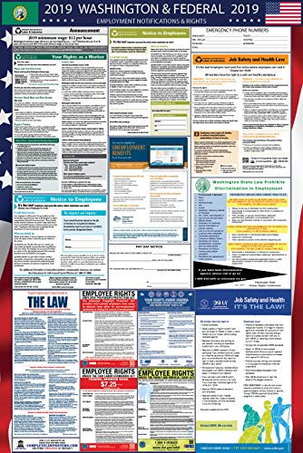 2019 Washington and Federal Labor Law Poster