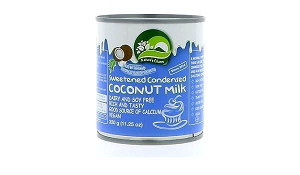 Natures Charm | Condensed Coconut Milk | 1 x 320g: Amazon.es: Alimentación y bebidas