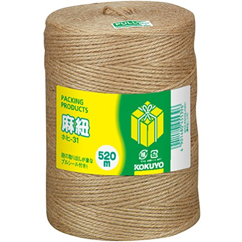 kokuyohohi-31-hemp-string-cheese-winding-520m-japan-import-by-kokuyo