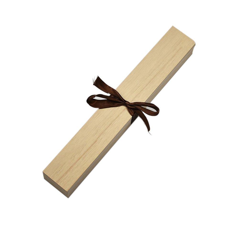 Demarkt Holz-Schatulle Naturhö lzern Quader 36, 5*5, 5*4, 5cm