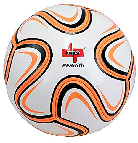 Perrini tamaño oficial 5 Brazuca balón de fútbol neón naranja y ...