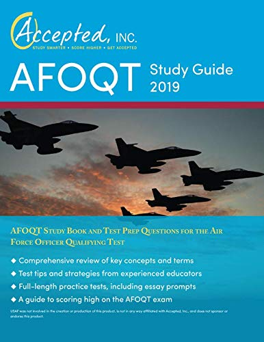 AFOQT Study Guide 2019: AFOQT Study Book and Test Prep Questions for the Air Force Officer Qualifying Test