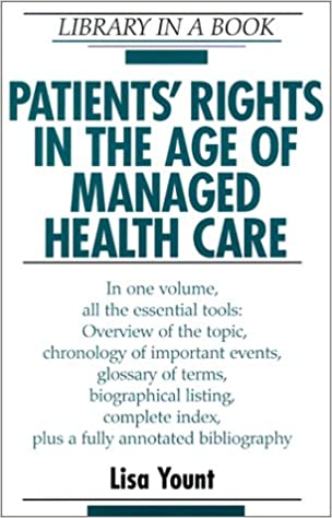 Google Google Book Downloader Patients' Rights in the Age of Managed Health Care (Library in a Book) in German DJVU by Lisa Yount