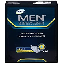 TENA Men Incontinence Protective Guard, Level 3, 48 Count by TENA