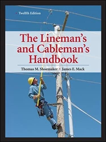 lineman s and cableman s handbook 12th edition lineman s rh amazon com  guidebook for linemen and cablemen pdf free