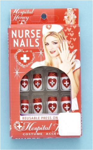 A And E Nurse Costume (Nurse Costume Nails)