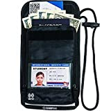 Travel Wallet-holder-Neck Pouch-Anti-Theft-RFID Blocking-Traveling Accessories