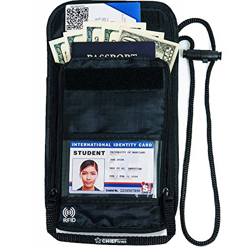 Great idea and product when traveling to protect your cash and credit cards
