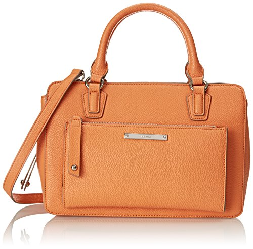 Nine West Zip N Go Satchel Top Handle Bag Ambrosia One Size