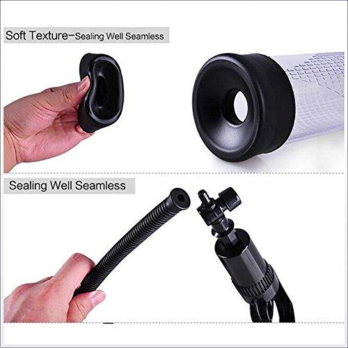 ZRB Male Pressure Gauge Style Penis Extension Vacuum Pump Air Enlarger Extender Prolong Penis Enlargement Enhancer Increase Penis Exercise