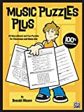 Music Puzzles Plus: 25 Educational and Fun Puzzles for Classroom and Home Use